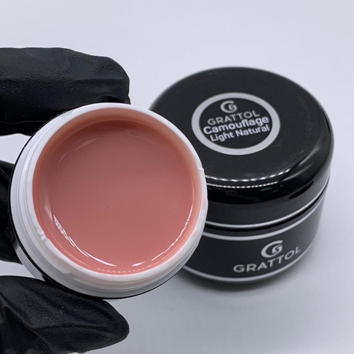 Grattol Camouflage Gel Light Natural  15 мл